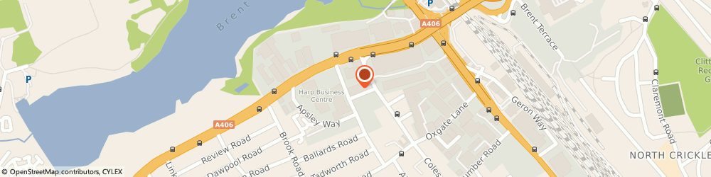 Route/map/directions to Camden Minicab, NW2 7HD London, Ajp Business Centre, 152-154, Coles Green Rd
