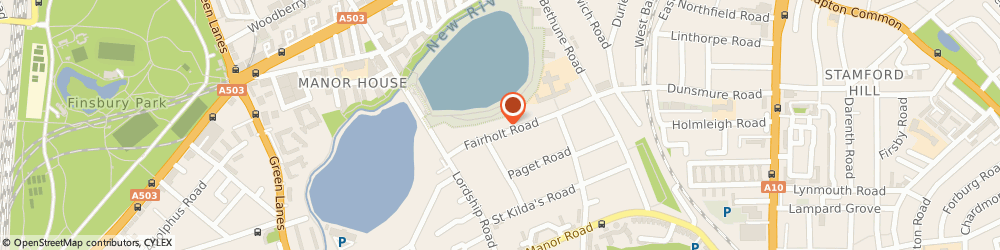 Route/map/directions to Royal Packaging, N16 5HN London, 66 Fairholt Road
