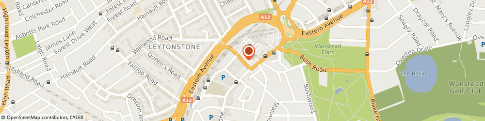 Route/map/directions to F&F Clothing, E11 1HT London, Gainsborough Rd