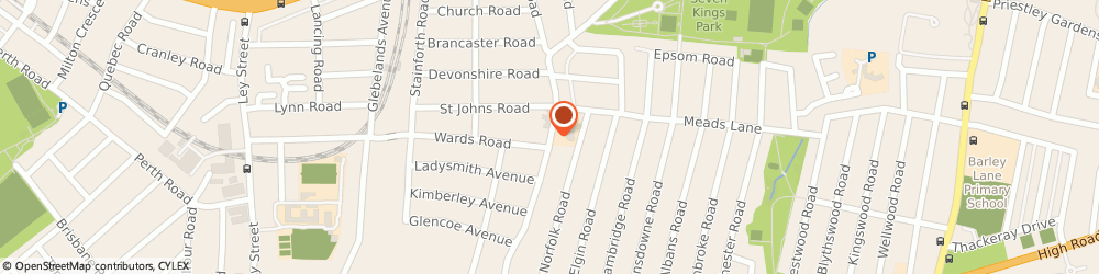 Route/map/directions to Elegance Curtains & Blinds, IG3 8HZ Ilford, 225 Aldborough Road South