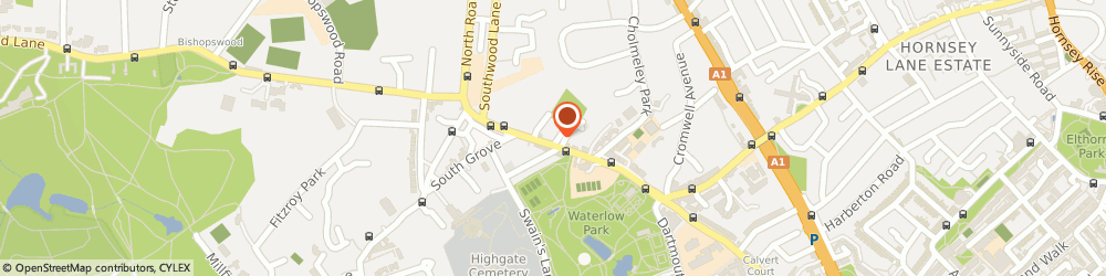 Route/map/directions to Hair Of The Dog, N6 5JG London, 24 Highgate High St, Highgate