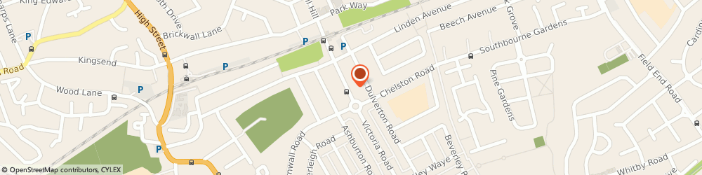 Route/map/directions to SPICE, HA4 9BH Ruislip, 95 Victoria Road