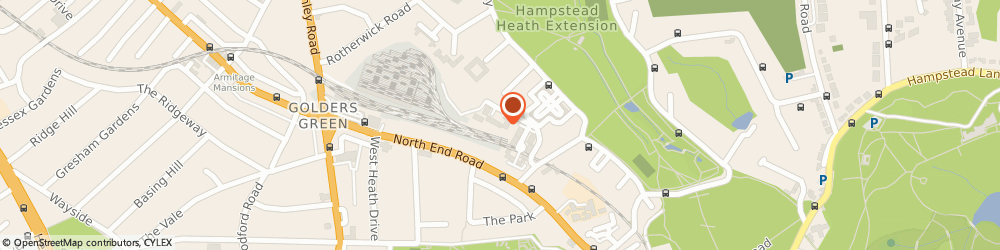 Route/map/directions to London Translation House Ltd., NW11 7HF London, 38 Chandos Way