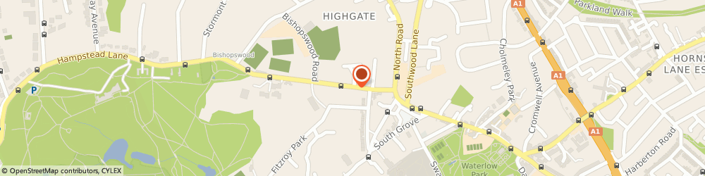 Route/map/directions to 2d Solutions Limited, N6 4RT London, 15C HAMPSTEAD LANE
