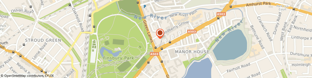 Route/map/directions to Quick Cleaning Services, N12 0DR London, Woodberry House, 2 Woodberry Grove