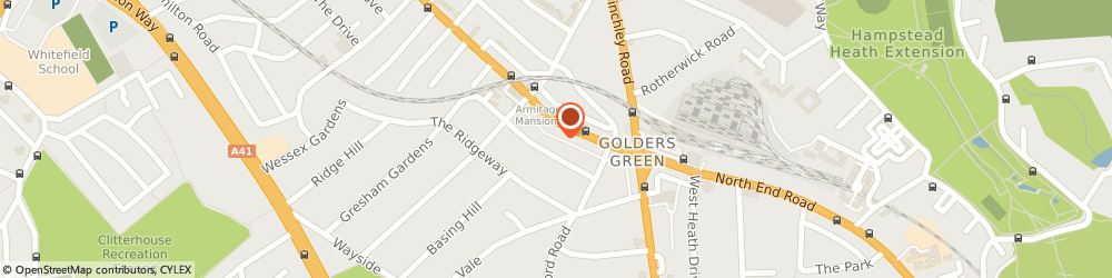 Route/map/directions to Internet Security, NW11 8ED London, 8b Accommodation Rd