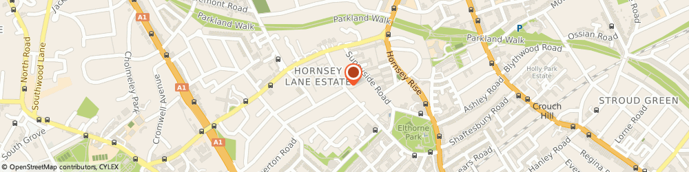 Route/map/directions to F Custins & Sons, N19 3NA London, 90 Hazellville Road