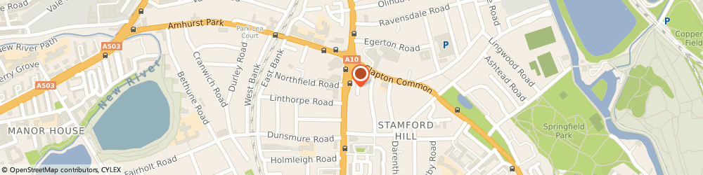 Route/map/directions to Finx Housecoats, N16 6QX London, 164 Stamford Hill