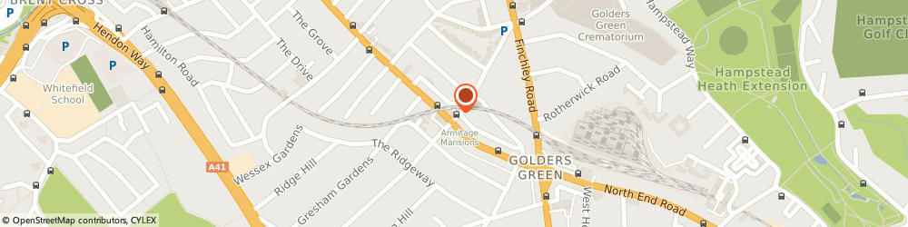 Route/map/directions to Soyo, NW11 8HB London, 94 Golders Green Rd