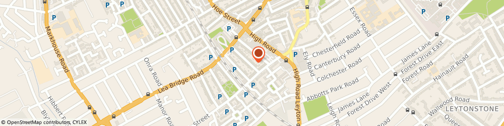Route/map/directions to Nadim Express Ltd, E10 7AE London, 27 Westerham Rd