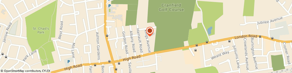 Route/map/directions to LIZDA SERVICES LTD, RM6 6BD Romford, 39 Kings Avenue