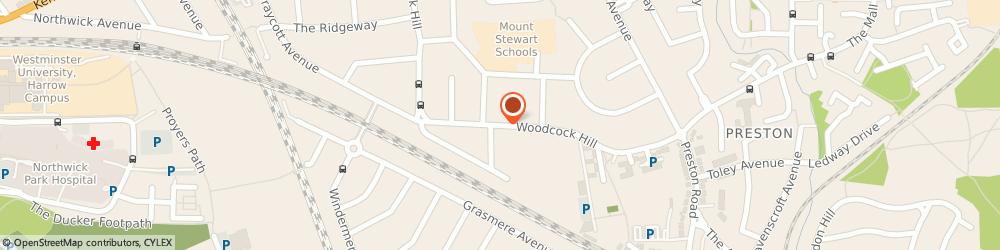 Route/map/directions to H C Hire, HA3 0NX Harrow, 186 WOODCOCK HILL