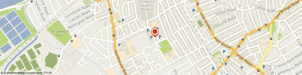 Route/map/directions to Walthamstow Locksmiths, E17 8NT London, Lennox Road