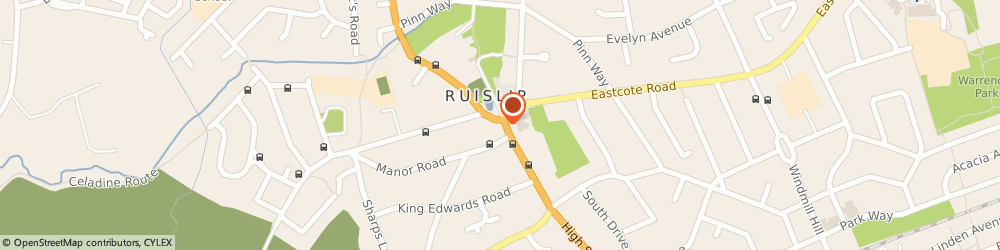 Route/map/directions to Kumon Ruislip, HA4 7AR Ruislip, Manor Farm Community Hut