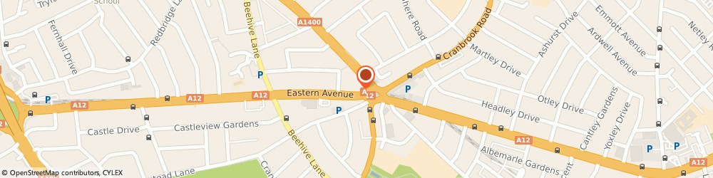Route/map/directions to C21 Ilford, IG2 6NE Ilford, 361, Eastern Avenue
