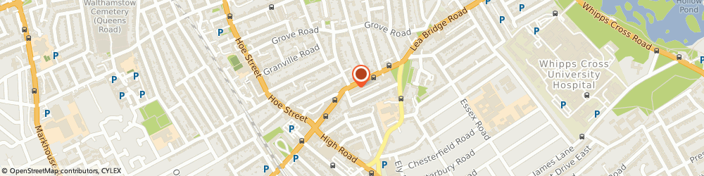 Route/map/directions to Bostock Chater & Sons Ltd, E10 6AW London, 684-692 Lea Bridge Road