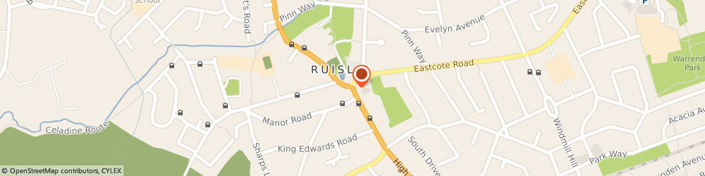 Route/map/directions to Noir Menswear Ltd, N22 6DS London, 5 The Broadway High Road