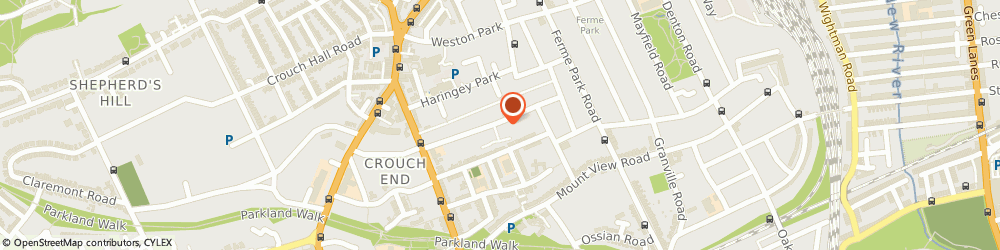 Route/map/directions to Cope Scaffolding Limited, N8 9AX London, 43B Cecile Park