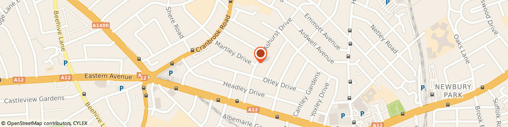 Route/map/directions to Desi Occasion Planners Ltd, IG2 6SH Ilford, 52 MARTLEY DRIVE