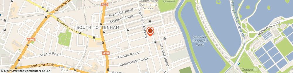 Route/map/directions to Anytime Locksmiths Tottenham, N15 6AP London, Clifton Gardens