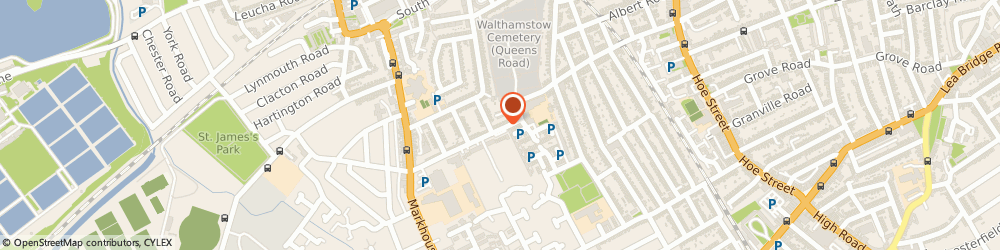 Route/map/directions to Locksmith Buckhurst Hill, IG9 5DR London, 154-156 Queen's Rd