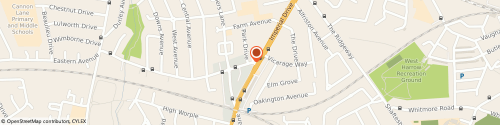 Route/map/directions to Advance Insurance Services, HA2 7LX Harrow, 11, VILLAGE WAY EAST, RAYNERS LANE, PINNER