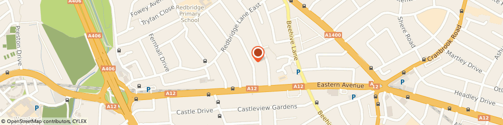 Route/map/directions to Building Claims 4u Ltd, IG4 5HG Ilford, 23 DANEHURST GARDENS