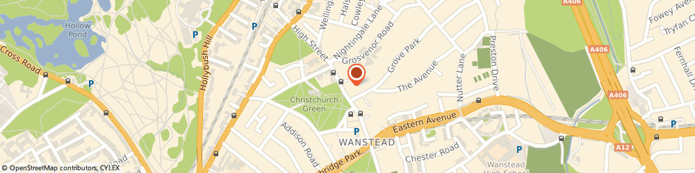 Route/map/directions to Oxfam Charity Shops London, E11 2AG London, Clock House Parade