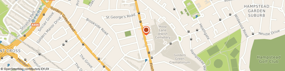 Route/map/directions to Total Medical Healthcare Services Limited, NW11 7HB London, 999 Finchley Road