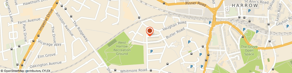 Route/map/directions to Carintal Insurance Brokers Ltd, HA1 4BY Harrow, 28 Drury Rd