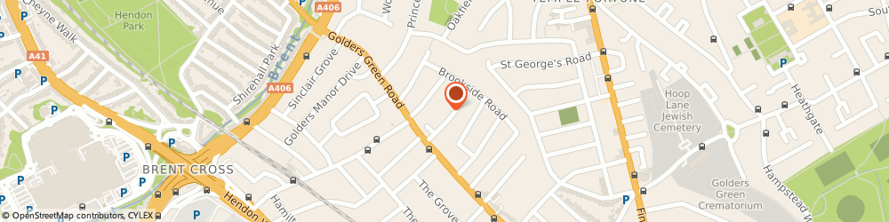 Route/map/directions to Rulan Limited, NW11 9NJ London, PARK, HOUSE, RUSSELL GARDENS