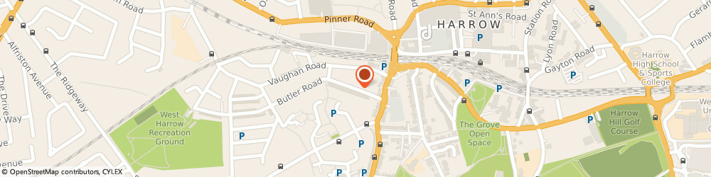 Route/map/directions to Mr Pushan Bhatia - Psychotherapist, HA1 4QW Harrow, HAROLD MACMILLAN MEDICAL CENTRE, BUTLER AVENUE