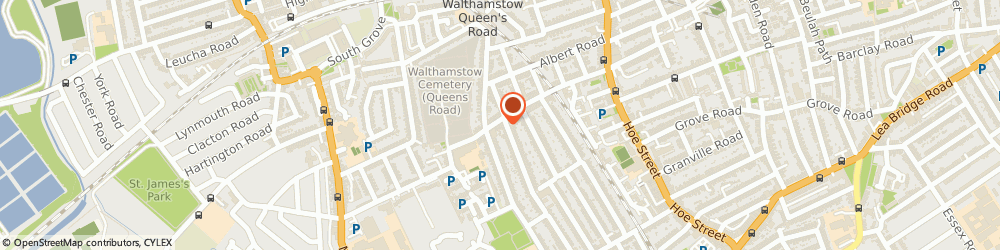 Route/map/directions to The Education Centre, E17 8QS London, 97, QUEENS ROAD