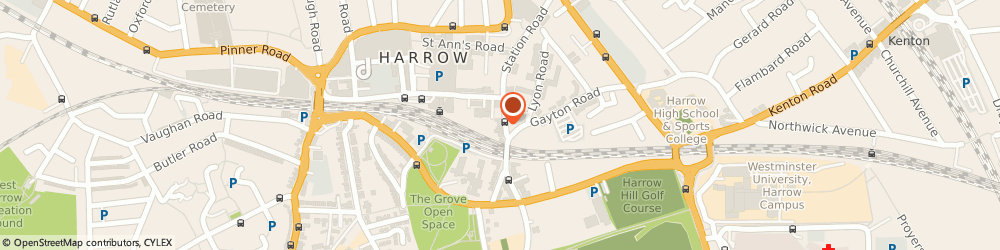 Route/map/directions to Lotus Coaching Limited, HA1 2AW Harrow, Lynwood House;373-375 Station Road