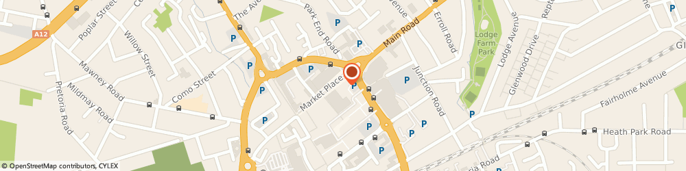 Route/map/directions to Hilbery Chaplin Romford, RM1 3HQ Romford, 86 Market Place