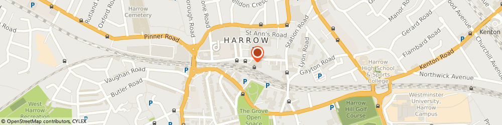 Route/map/directions to Penkz Limited, HA1 1BD Harrow, 79 College Rd