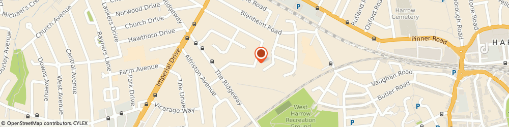 Route/map/directions to Annis Financial Services, HA2 7BZ Harrow, 116 Elm Drive