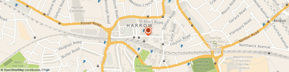 Route/map/directions to Phoenix Payroll Ltd, HA1 1BE Harrow, HYGEIA HOUSE, 66 COLLEGE ROAD