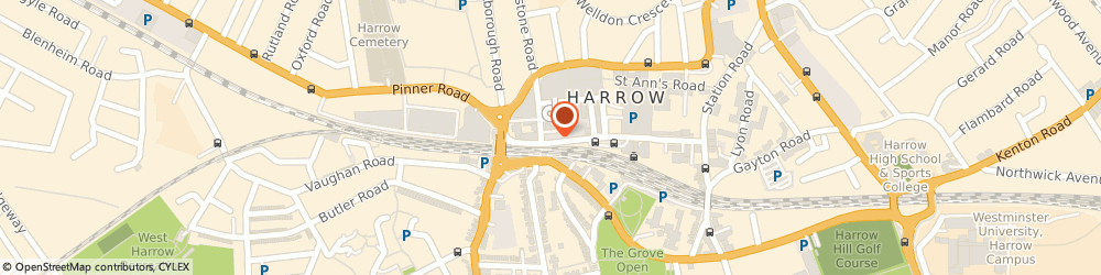Route/map/directions to Charles Rippin And Turner, HA1 1BQ Harrow, 130 College Rd