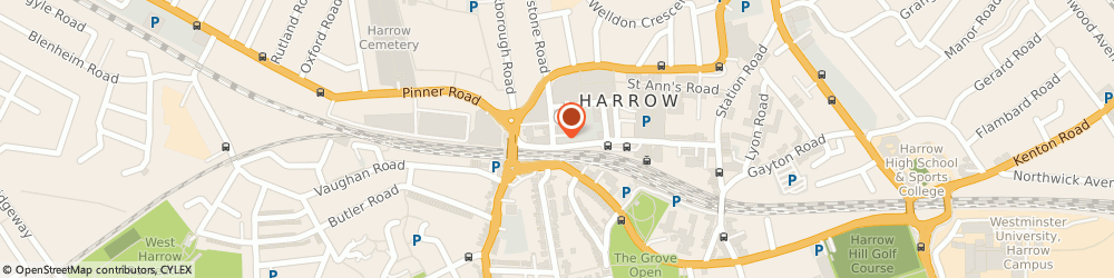 Route/map/directions to LAWRENCE & CO, HA1 1BQ Harrow, 132-134 College Road