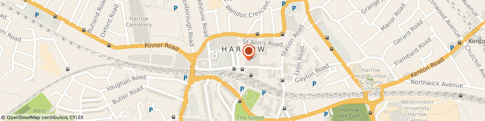 Route/map/directions to JSP Accountants Limited, HA1 1BE Harrow, 10 College Rd