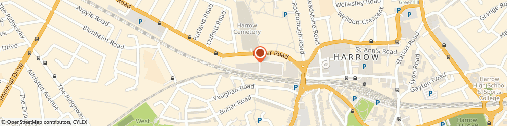 Route/map/directions to Magnet Trade Harrow, HA1 4HX Harrow, 2a, Neptune Road Industrial Estate, Pinner Rd