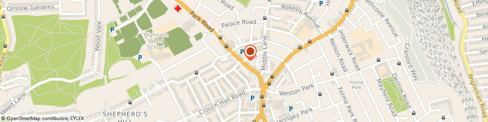 Route/map/directions to Of Special Interest, N8 8TD London, 42b-46 Park Rd