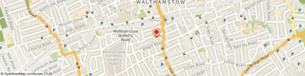 Route/map/directions to Bell Security Systems, E17 7QL London, 1A Cedars Avenue