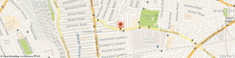 Route/map/directions to Woodlands Park Infant School, N15 3TD London, ST ANNS ROAD