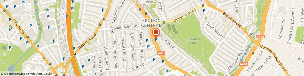 Route/map/directions to Sew, NW4 3LP London, 385 HENDON WAY