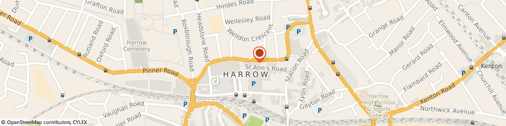 Route/map/directions to Early Learning Centre Harrow, HA1 1JX Harrow, 80-82 St Anns Road