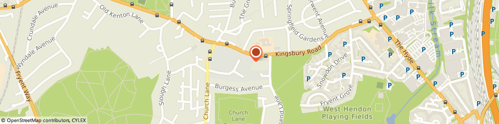 Route/map/directions to Fortune Insurance Services Limited, NW9 8XG London, 219 Hool Cl