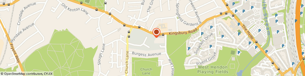 Route/map/directions to Riversure Ltd, NW9 8XG London, Hool Cl, Knightsbridge House