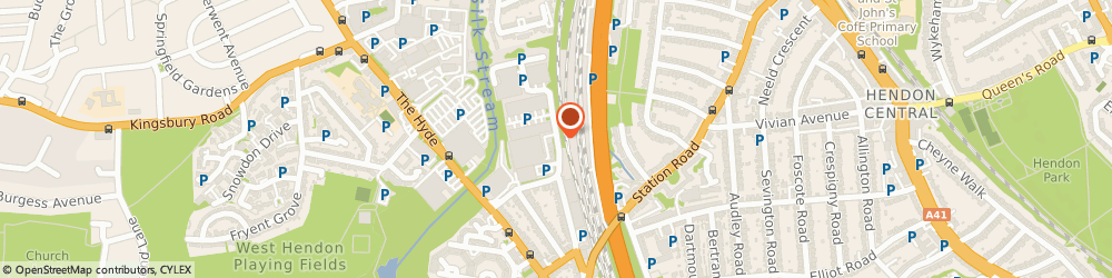Route/map/directions to Online First Aid, NW9 6AQ London, 15-17 THE GARRICK CENTRE, IRVING WAY